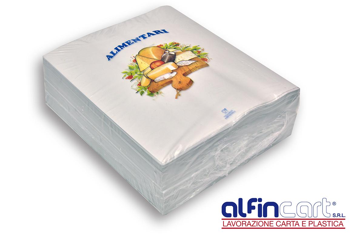 Papier duplex alimentaire dédié à la boucherie et charcuterie.