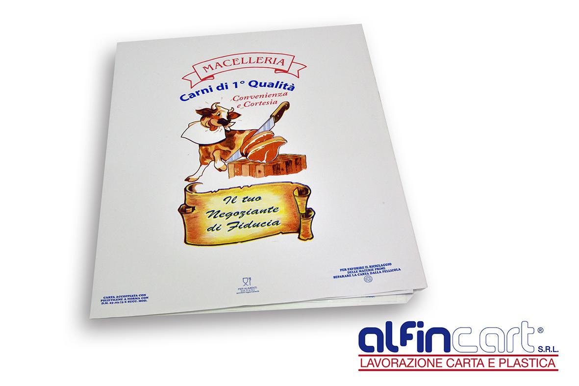 Metzgerei und Partyservice Frischpack Papier ideal für Verpacken von Halal-Fleisch, Käse, Wurst und Fleischprodukte.