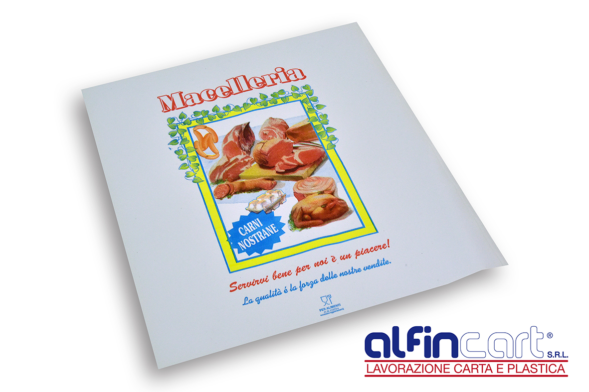 Deli Wrap Paper and Duplex Paper for butchers shops.