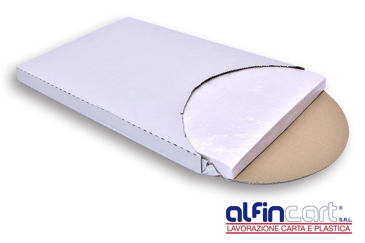 Carta da forno siliconata su entrambi i lati del foglio, impermeabile ed anche resistente al calore.