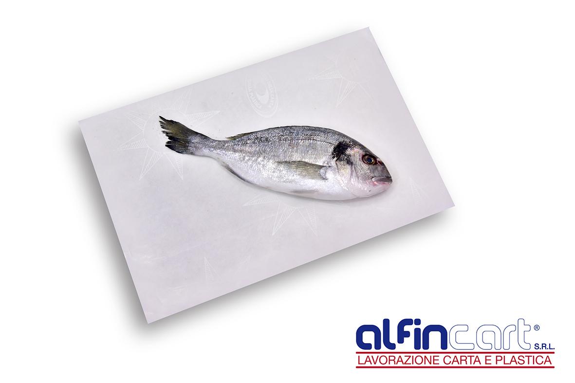 Carta paraffinata per alimenti e per usi alimentari.