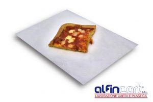 Carta pergamino argento per alimenti.