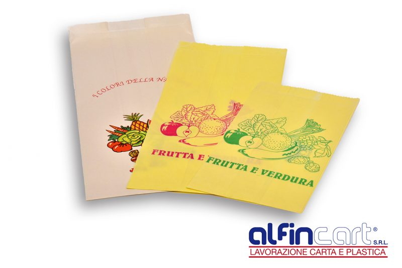 Paper Bags for Fruit and Vegetables.
