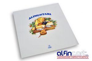 Papier thermoscellable pour emballer les produits gras.