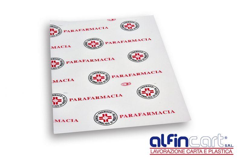Papier pour les parapharmacies.