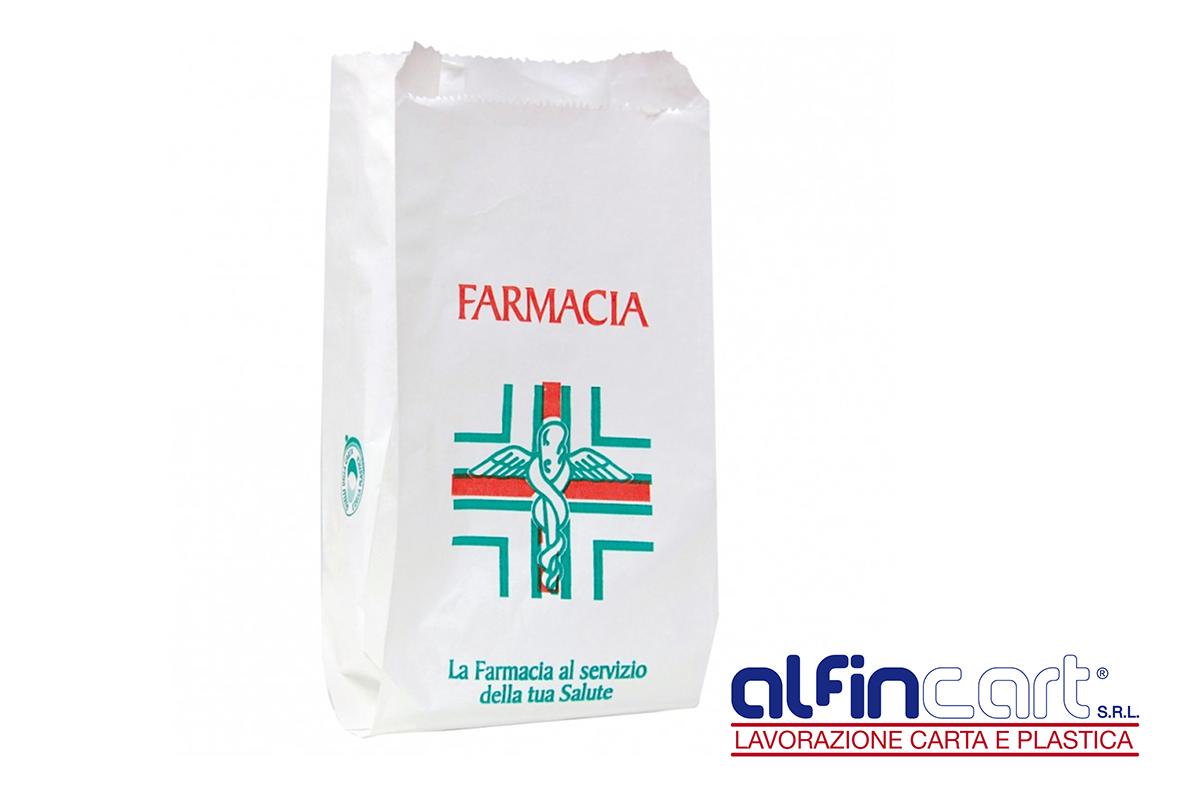 Pharmacy Paper Bags.