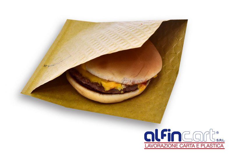 Sacchetti porta panini in carta paglia.