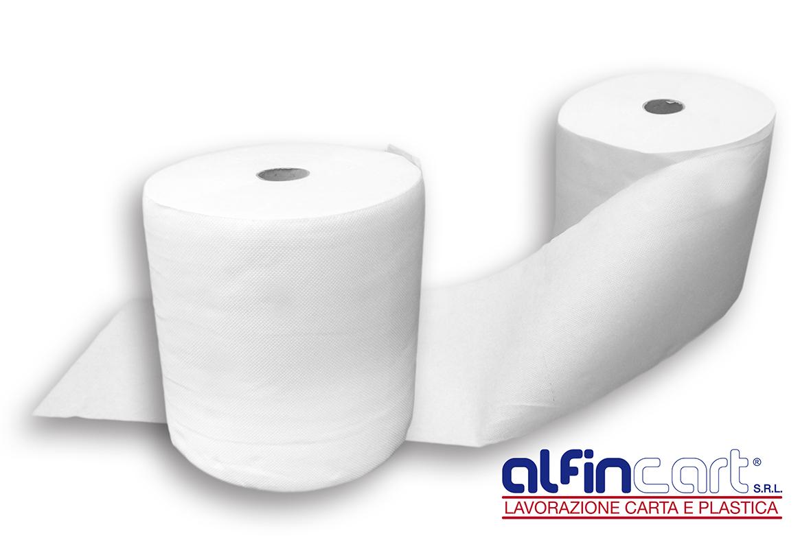 Rotoli di carta asciugatutto ideale per l'uso in famiglia oppure in azienda.