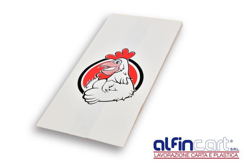 Sacchetti per il pollo allo spiedo.